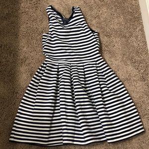 Kids Polo Ralph Lauren Striped Dress Size M (8-10)